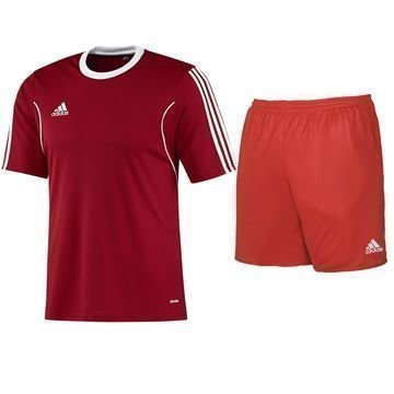 Adidas Football Kit Squadra Red Kids Lapset