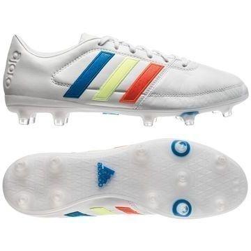 Adidas Gloro 16.1 FG Valkoinen/Keltainen/Sininen