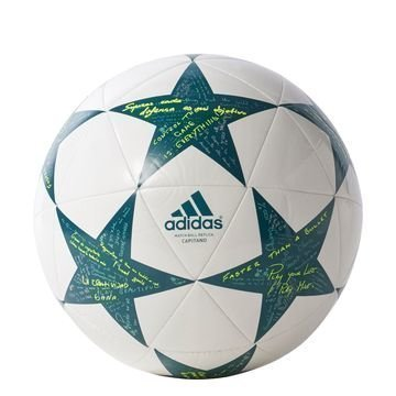 Adidas Jalkapallo Champions League 2016 Capitano Valkoinen/Vihreä