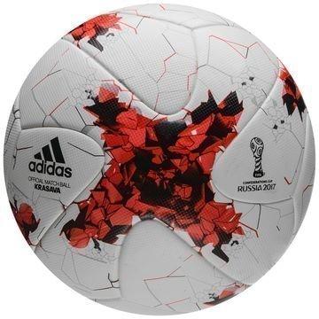 Adidas Jalkapallo Confederations Cup Krasava Ottelupallo Valkoinen/Punainen