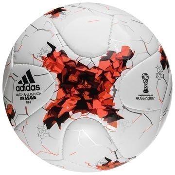 Adidas Jalkapallo Confederations Cup Mini Valkoinen/Punainen Lapset