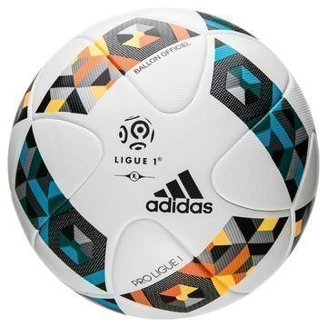 Adidas Jalkapallo Ligue 1 Ottelupallo Valkoinen/Sininen