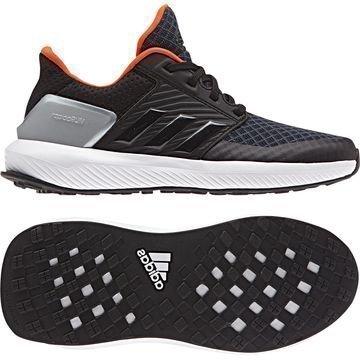 Adidas Juoksukengät RapidaRun Musta/Oranssi Lapset