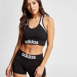 Adidas Linear Sports Bra Musta