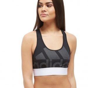 Adidas Logo Bra Musta