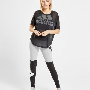 Adidas Logo T-Paita Musta