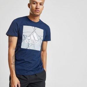 Adidas Marble Box T-Shirt Laivastonsininen