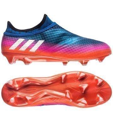 Adidas Messi 16+ PureAgility FG/AG Blue Blast Sininen/Valkoinen/Oranssi