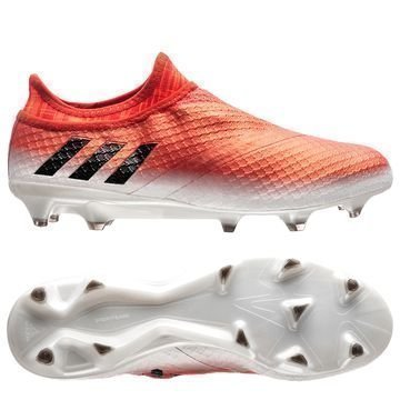 Adidas Messi 16+ PureAgility FG/AG Red Limit Valkoinen/Musta/Punainen