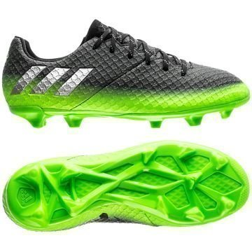Adidas Messi 16.1 FG/AG Space Dust Harmaa/Hopea/Vihreä Lapset