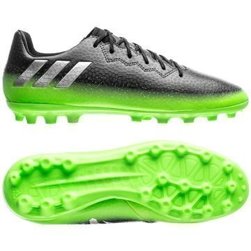 Adidas Messi 16.3 AG Space Dust Harmaa/Hopea/Vihreä Lapset