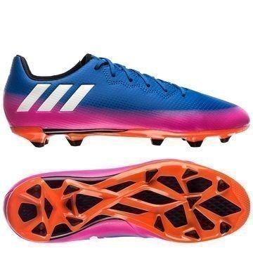 Adidas Messi 16.3 FG/AG Blue Blast Sininen/Valkoinen/Oranssi Lapset