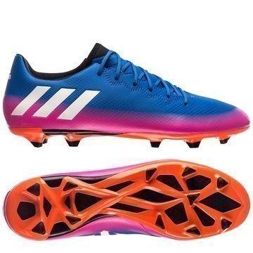 Adidas Messi 16.3 FG/AG Blue Blast Sininen/Valkoinen/Oranssi