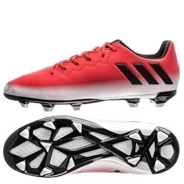 Adidas Messi 16.3 FG/AG Red Limit Punainen/Musta/Valkoinen Lapset