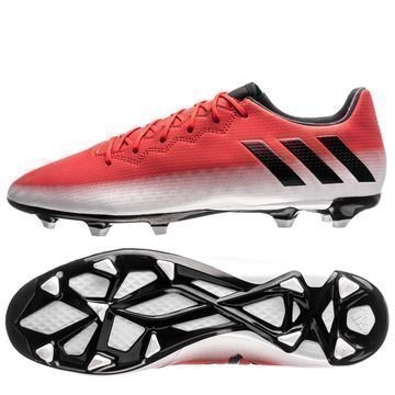 Adidas Messi 16.3 FG/AG Red Limit Punainen/Musta/Valkoinen