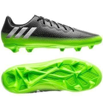 Adidas Messi 16.3 FG/AG Space Dust Harmaa/Hopea/Vihreä Lapset