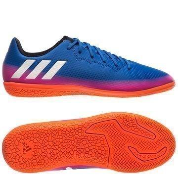 Adidas Messi 16.3 IN Blue Blast Sininen/Valkoinen/Oranssi Lapset