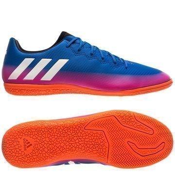Adidas Messi 16.3 IN Blue Blast Sininen/Valkoinen/Oranssi