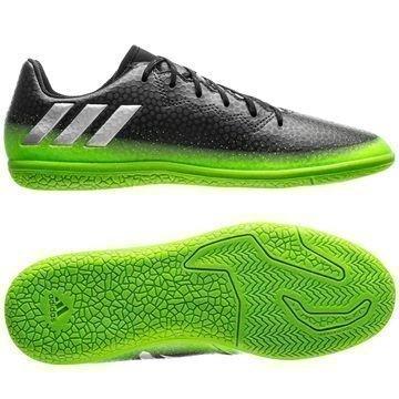 Adidas Messi 16.3 IN Space Dust Harmaa/Hopea/Vihreä Lapset