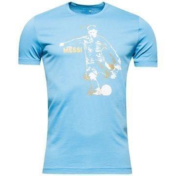 Adidas Messi T-Paita Sininen