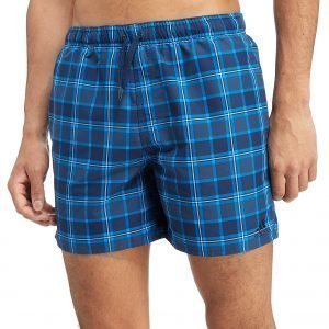 Adidas Originals 3-Stripes Check Swimshorts Blue Check