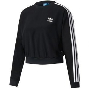 Adidas Originals 3 Stripes Cropped Collegepaita