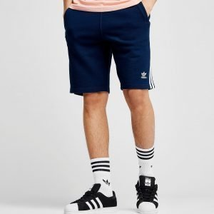 Adidas Originals 3-Stripes Fleece Shorts Laivastonsininen