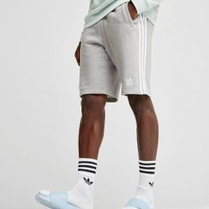 Adidas Originals 3-Stripes Fleece Shortsit Harmaa