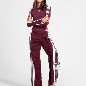 Adidas Originals 3-Stripes Long Sleeve Bodysuit Punainen