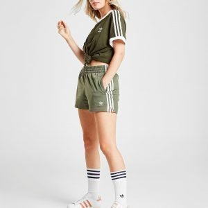 Adidas Originals 3-Stripes Poly Shortsit Vihreä