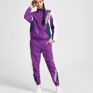 Adidas Originals 90'S Colour Block Woven Verryttelyhousut Violetti