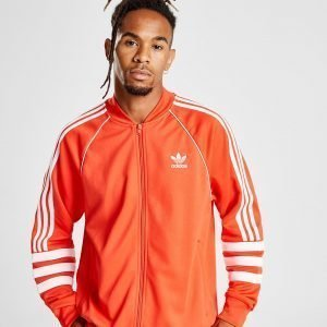 Adidas Originals Authentic Track Top Punainen