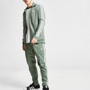 Adidas Originals Beckenbauer Cuffed Track Pants Vihreä