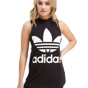 Adidas Originals Big Trefoil Tank Top Musta