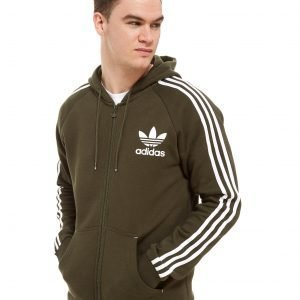Adidas Originals California Full Zip Hoodie Cargo / White