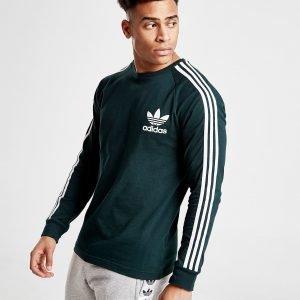 Adidas Originals California Long Sleeve T-Shirt Vihreä