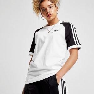 Adidas Originals California Raglan T-Shirt Valkoinen