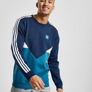 Adidas Originals Chevron Crew Sweatshirt Laivastonsininen