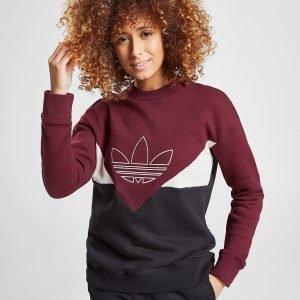 Adidas Originals Colarado Pique Crew Sweatshirt Punainen