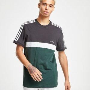 Adidas Originals Itasca Colour Block T-Paita Musta