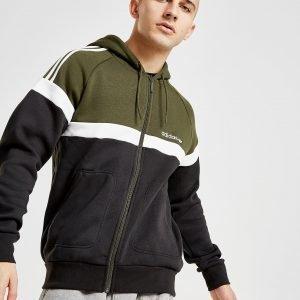 Adidas Originals Itasca Full Zip Hoodie Musta