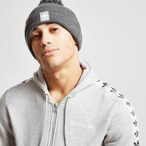Adidas Originals Logo Bobble Hat Charcoal
