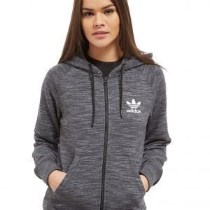 Adidas Originals Premium Spacedye Full Zip Huppari Charcoal
