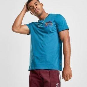 Adidas Originals Skateboarding Finny T-Shirt Teal / Orange / Purple / Blue