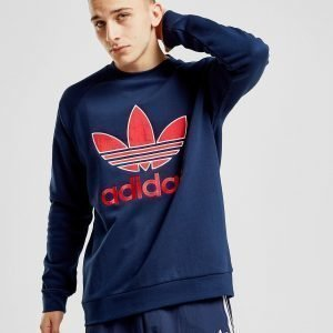 Adidas Originals Sportivo Crew Collegepaita Sininen