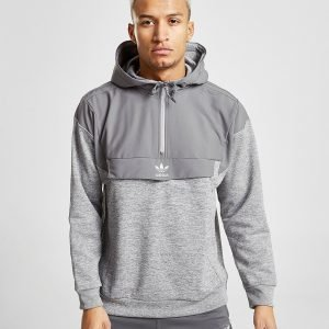 Adidas Originals Street Run Nova 1/2 Zip Hoodie Harmaa