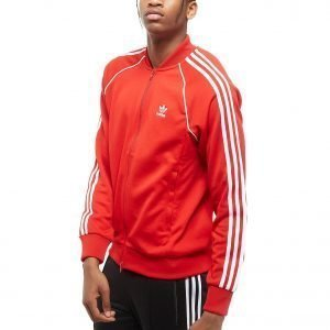 Adidas Originals Superstar Full Zip Verryttelytakki Scarlet / Scarlet