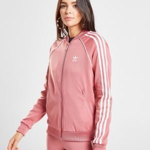 Adidas Originals Superstar Track Top Vaaleanpunainen