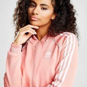 Adidas Originals Superstar Verryttelypaita Rose / White