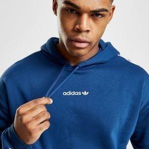 Adidas Originals Tape Overhead Huppari Sininen